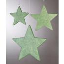 mayorista Otro: Estrella Glamour D25cm plástica