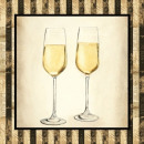 Serviette Estate Champagne 25x 25cm