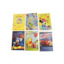 Disney greeting cards assorted 17.5cm x 12cm