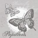 Großhandel Tischwäsche: Serviette Butterfly Feeling