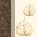 Serviette Skeleton Leaves