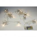 grossiste Chaines de lumieres: Lichterkette étoile en métal
