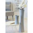 Großhandel Blumentöpfe & Vasen:Vase Karo matt