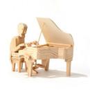 wholesale Blocks & Construction:Timberkits Pianist