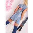 wholesale Jeanswear:Women's denim vest