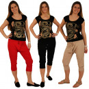 mayorista Ropa deportiva: Señoras Capri holgados pantalones ...