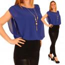Großhandel Hemden & Blusen: Damen Oberteil  Bluse Tunika Kleid Dress Shirt