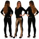 ingrosso Pantaloni: Donne Treggings  Jeggings Leggings nero