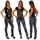 ingrosso Jeans: donne jeans skinny  Jeans Pantaloni tubo dell'a