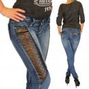 wholesale Jeanswear: Jeans Women's  Skinny Jeans leather look Push U