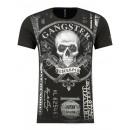 Großhandel Shirts & Tops: Herren T-Shirt mit  Rundhalsausschnitt by Sationela