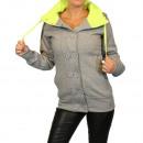 hurtownia Plaszcze & Kurtki: Kurtki damskie  bluzki Płaszcz Pullover Sweat Blaze