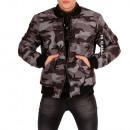 wholesale Coats & Jackets: Men's Jacket  Camouflage Army look bomber jacke