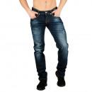ingrosso Jeans: Uomo Jeans denim  effetto used by Sationela