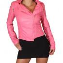 wholesale Coats & Jackets: Jacket Women's  Faux Leather Jacket Jacket in l