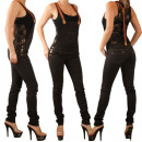 wholesale Jeanswear: DUNGAREES LADIES  PANTS WITH  SUSPENDERS PANTS ...