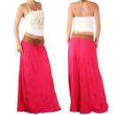 Großhandel Röcke: Rock Damen  Maxirock langer Sommerrock Skirt neu
