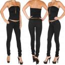 ingrosso Jeans: Plus Il treggings  Size Jeans Donna 40-48