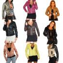 Jacket Ladies Mix Art Leather Jacket Mixposten Lea