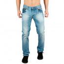 Großhandel Jeanswear: Herren Jeans Denim  Used Optik by Sationela