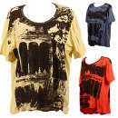wholesale Shirts & Blouses: Damenshirt  Mixposten Remnants T-Shirt blouse New