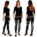Großhandel Hosen: Sationela LEggings  Damen Hose Treggings Jeggings
