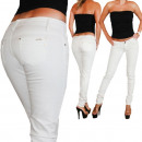 ingrosso Jeans: Hipsters Jeans  Donna Bianca  praticano ...