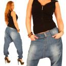 Wąż Pompy Aladin Sport Boyfriend Jeans Kobiet