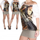 ingrosso Camicie: Signore Camicetta  Top tunica Shirt T-Shirt