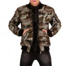 hurtownia Plaszcze & Kurtki: Męska kurtka  Camouflage Army wygląd bomber kurtka