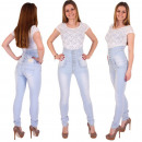 wholesale Jeanswear: Jeans Women's  High Waist Pants High waist Cors