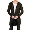 Uomini giacca giacca maglione con cappuccio Sation