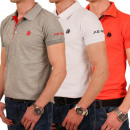 T-Shirt guscio Polo da Uomo Uomini New