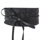 wholesale Belts: Belts Waist Belt Wrap Leather Black