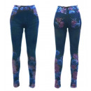 wholesale Jeanswear: Thermo Jeggings  Leggings Jeans Optics Roses