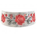 wholesale Belts: Women's Ethno  Belt Hippie Wickell embroidered