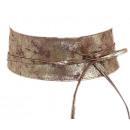 wholesale Belts: Wickelgürtel waist belt leather belt Brown Gold