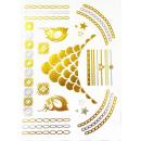 Großhandel Schmuck & Uhren: Body Tattoo Gold Metallic Accssoires Schmuck ...