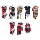 wholesale Fashion & Apparel: XXL Winter Scarf  Ladies Tartan Plaid Plaid