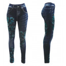 wholesale Jeanswear: Thermo Jeggings  Leggings Strass Butterfly