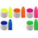 groothandel Watersport: 5x 5 ml Exclusieve  Color Gel Neon UV Gel