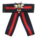 groothandel Figuren & beelden: Bow Brooch Pin Bee Diamond Red Blue