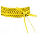 ingrosso Cinture: Cintura in pelle  avvolgente cintura intrecciata gi