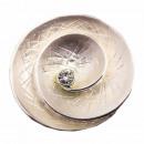 groothandel Kleding & Fashion: Magneet broche pin voor sjaal spiraal natuur