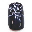 groothandel Reinigingsproducten: Zelf airbrush tips Black met patroon