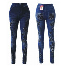 wholesale Jeanswear: Sexy Ladies  Jeggings Leggings Jeans Optik Floral