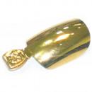 Großhandel Drogerie & Kosmetik: 12 Selbstklebende Tip Nails Fingernägel Metallic