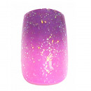 wholesale Nail Varnish: 12 Airbrush Nails  Tips Purple Pink with glitter