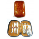 wholesale Knife Sets: 9 pcs. Manicure /  Pedicure Set hands feet nails