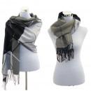 Las mujeres de la  bufanda de la bufanda del invier